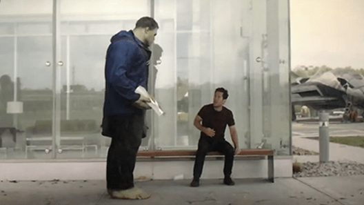 Dank meme of the Incredible Hulk giving Ant-Man a taco