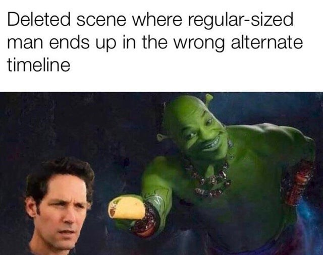 Hulk Giving Ant-Man A Taco' Is A Meme Gift To The Whole Internet