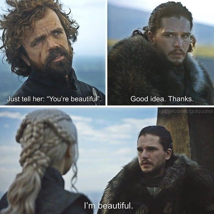 """Hair - Just tell her: """"You're beautiful"""" Good idea. Thanks ig@incorrectgotquotes I'm beautiful."""