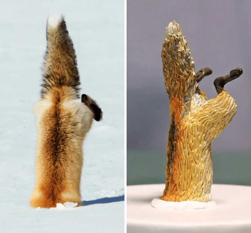 animal meme art - Sculpture