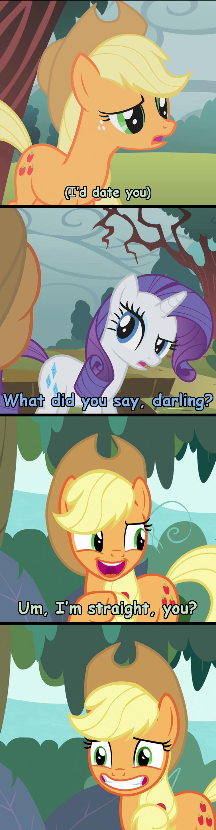 shipping applejack incorrect my little pony quotes screencap rarity - 9311370496
