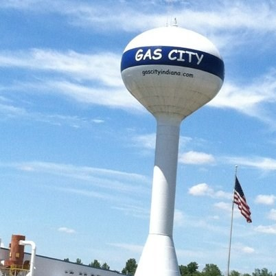 Water tower - GAS CITY gascityindiana com
