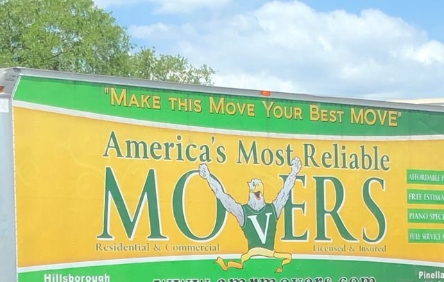 Green - MAKE THIS MOVE YOUR BEST MOVE America's Most Reliable MO ERS AFFORDABLE P FREE ESTIMA PIANO SPECE FULL SERVICE Licensed&Insured Residential& Commercial Pinella Hillsborough OTTOTTOT