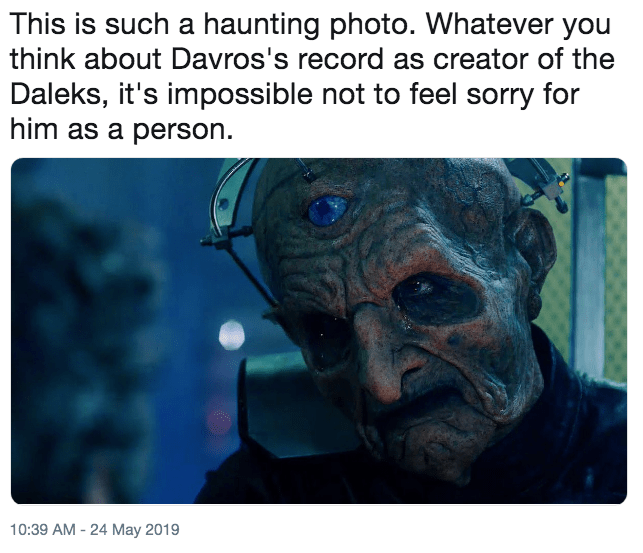 Funny 'This Is Such a Haunting Photo' meme - Doctor Who