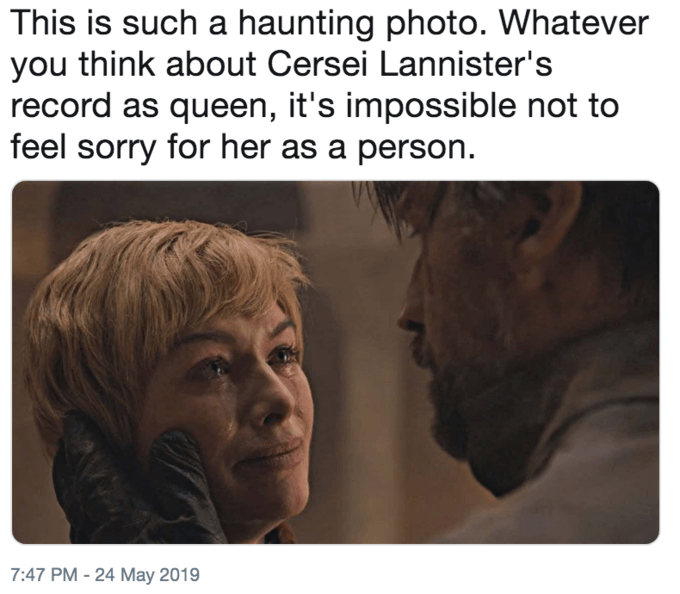 Funny 'This Is Such a Haunting Photo' meme - Game of Thrones