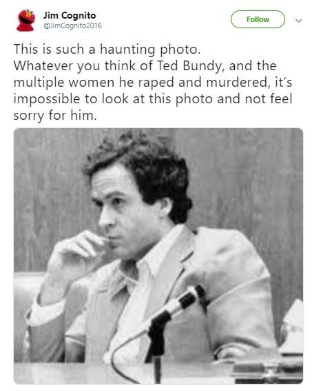Funny 'This Is Such a Haunting Photo' meme - Ted Bundy