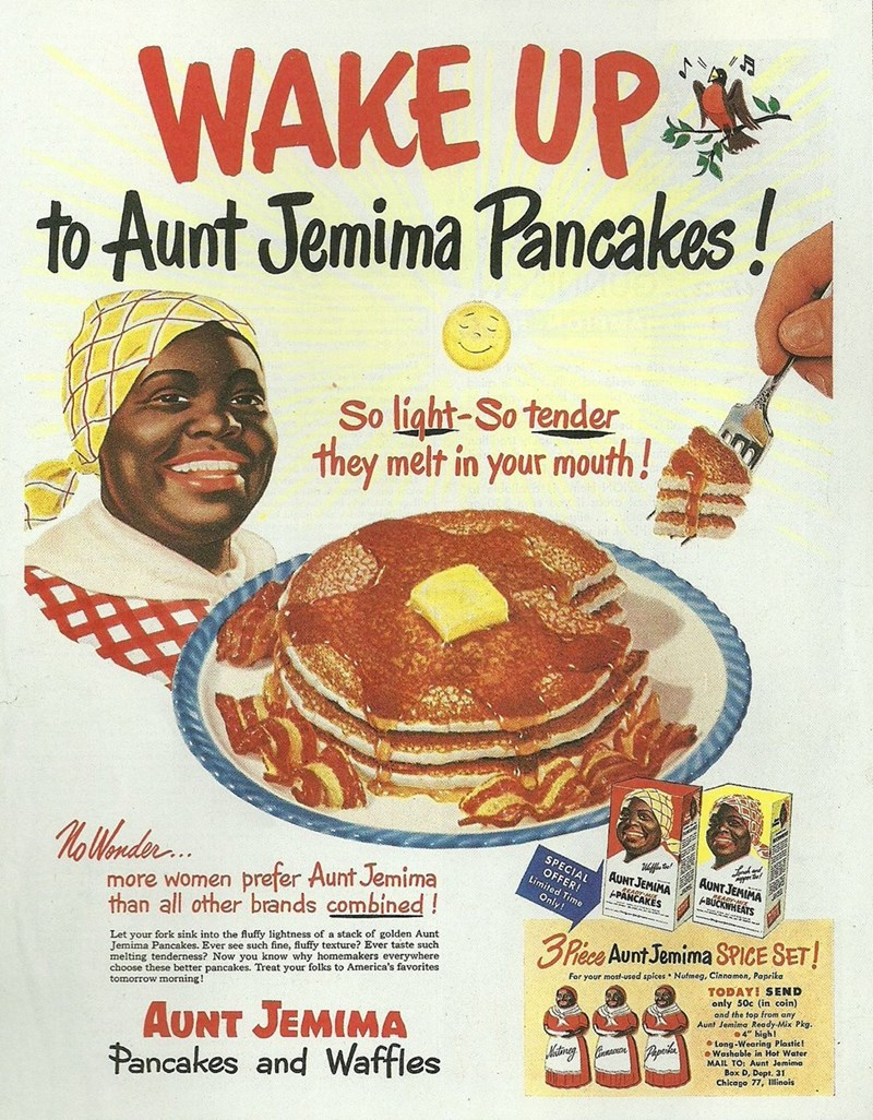 vintage advertisement - Vintage advertisement - WAKE UP to Aunt Jemima Pancakes!