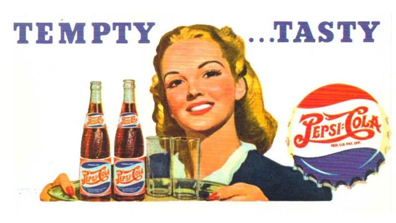 vintage advertisement - Drink - ΤΕΜPTY, ...TASTY JEPSIH OLA REG US PAT. OFF