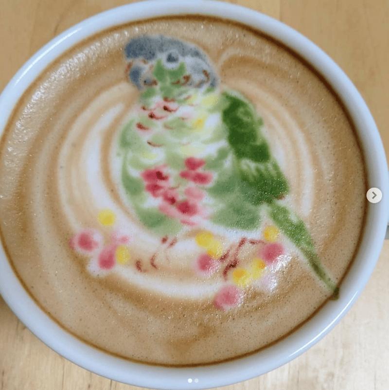 coffee bird art - Dishware