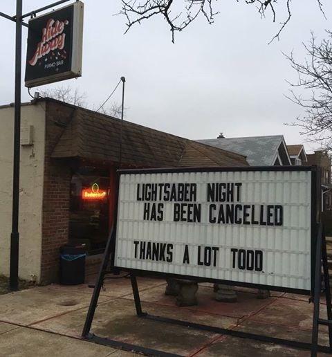 bad fail - Font - Aicke DANO BAR LIGHTSABER NIGHT HAS BEEN CANCELLED THANKS A LOT TOOD