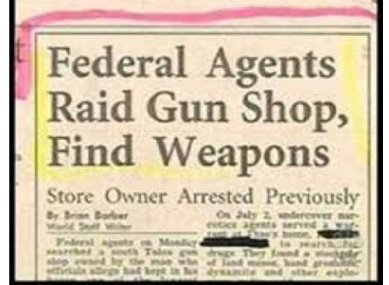 Text - Federal Agents Raid Gun Shop, Find Weapons Store Owner Arrested Previously On July 2, ndereer u MoldSei Frders ags Mond dgThey ple