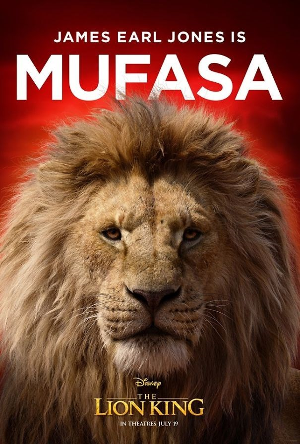 Lion - JAMES EARL JONES IS MUFASA THE LION KING IN THEATRES JULY 19