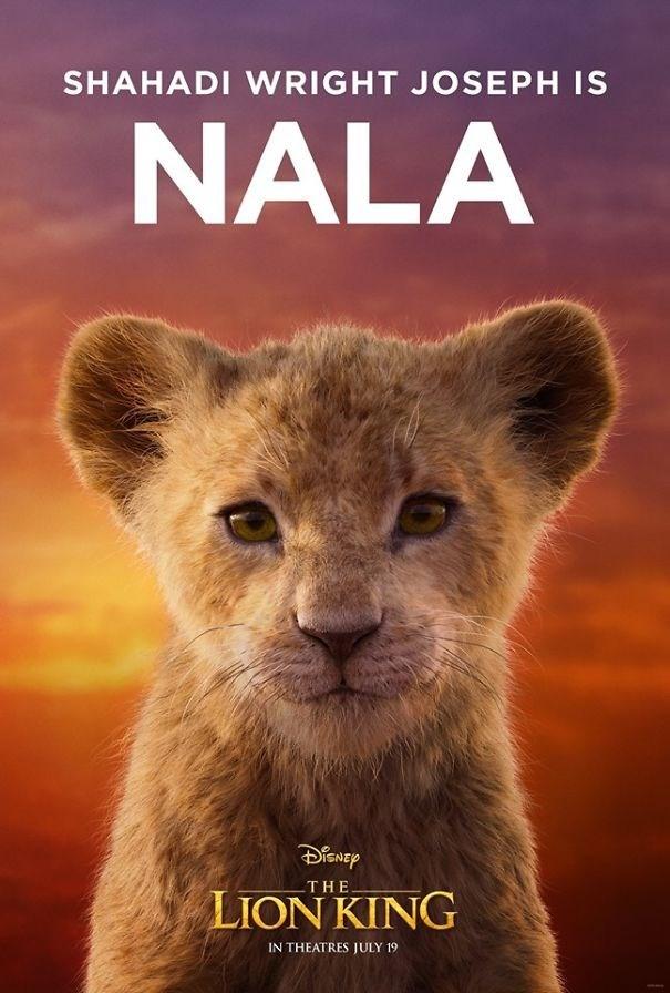 Felidae - SHAHADI WRIGHT JOSEPH IS NALA THE LION KING IN THEATRES JULY 19