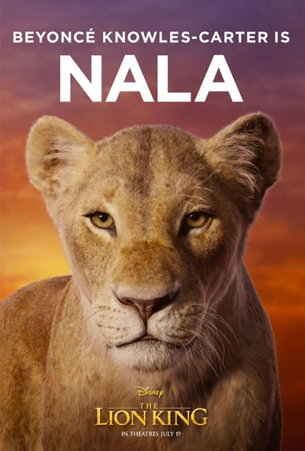 Vertebrate - BEYONCE KNOWLES-CARTER IS NALA THE LION KING IN THEATRES JULY 19