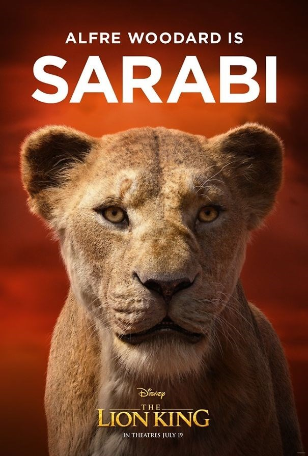 Mammal - ALFRE WOODARD IS SARABI THE LION KING IN THEATRES JULY 19