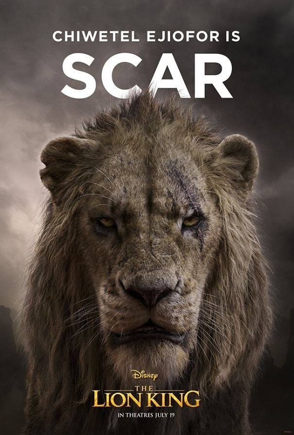 Wildlife - CHIWETEL EJIOFOR IS SCAR THE LION KING IN THEATRES JULY 19