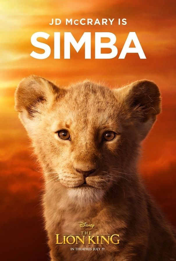 Wildlife - JD MCCRARY IS SIMBA THE LION KING IN THEATRES JULY 19