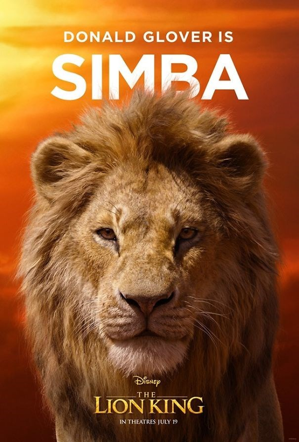 Lion - DONALD GLOVER IS SIMBA THE LION KING IN THEATRES JULY 19