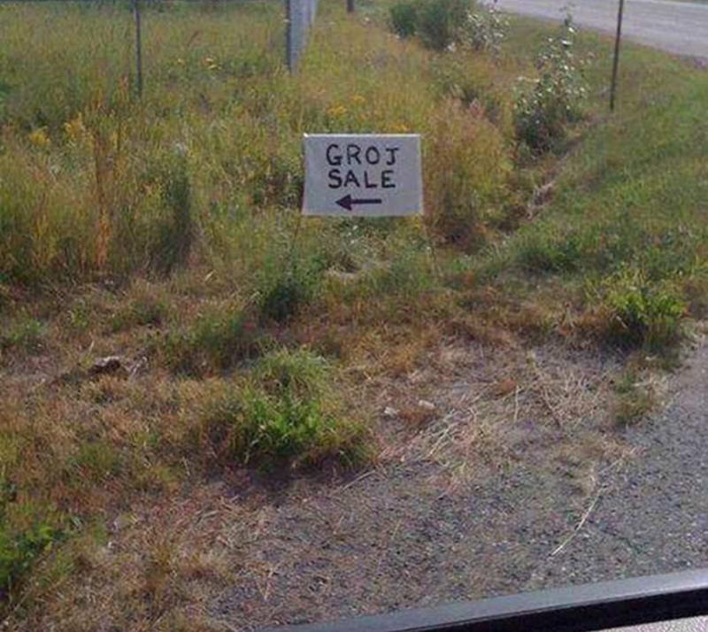 Land lot - GROJ SALE