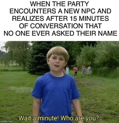 dungeons and dragons memes, role playing