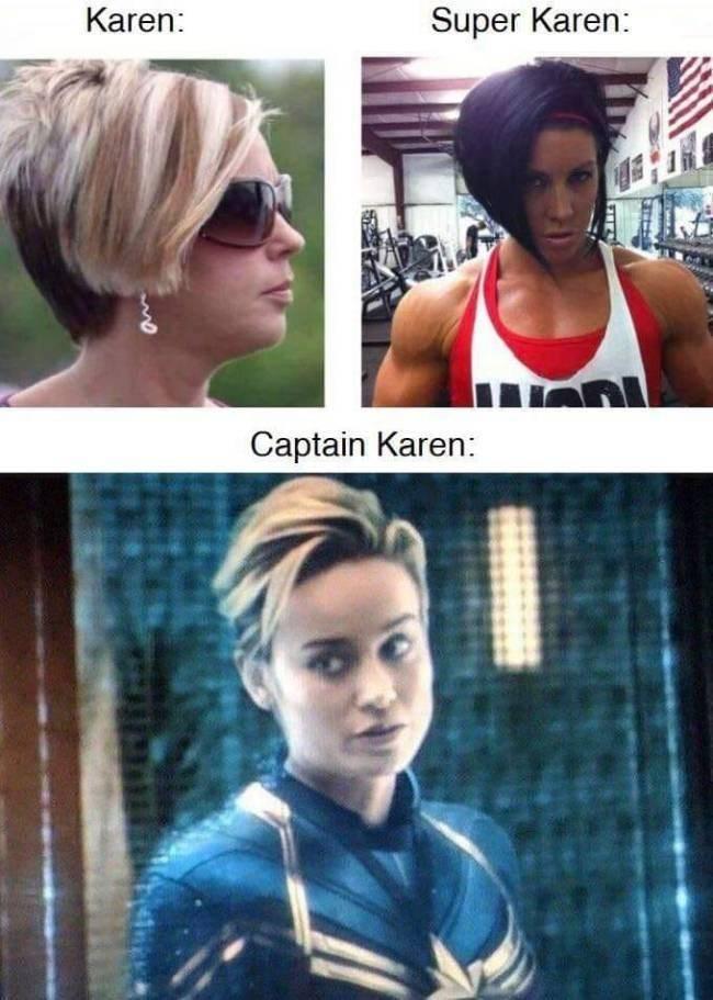 karen meme - Hair - Karen: Super Karen: Captain Karen: