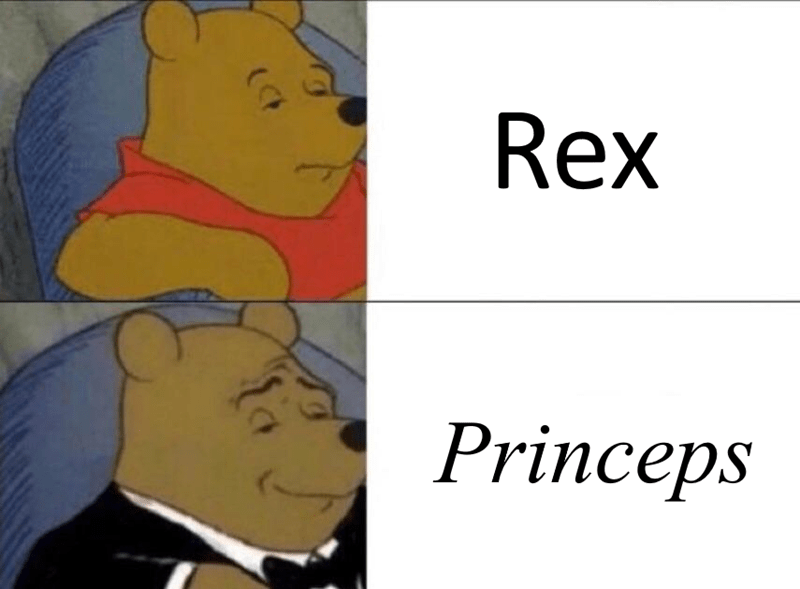 history meme - Cartoon - Rex Princeps (Ct