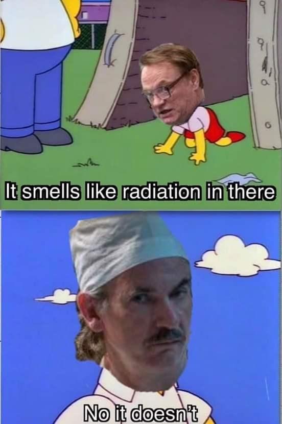 Chernobyl memes about the radiation leak