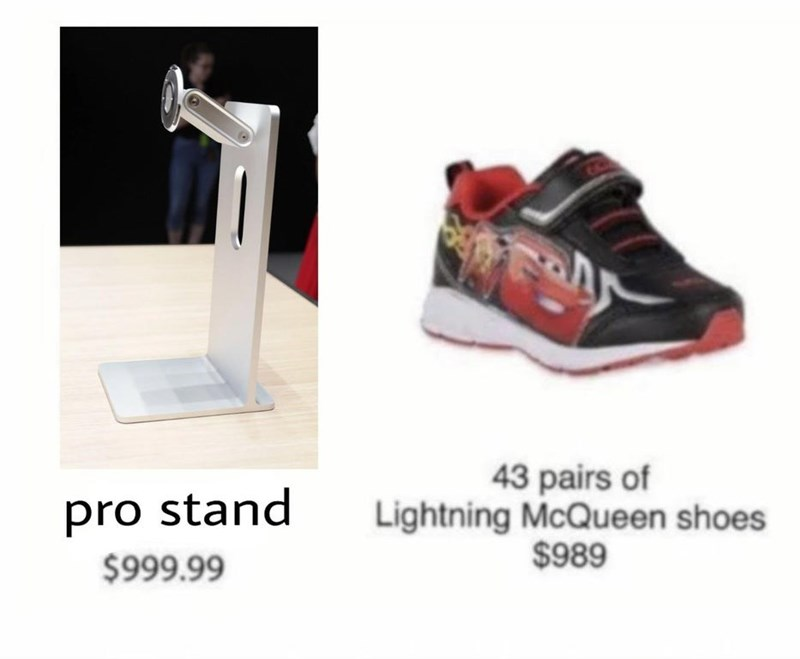 Funny Apple Pro Stand meme - Cars