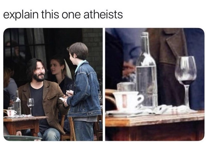 Product - explain this one atheists 2