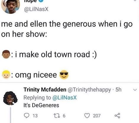 Funny 'Old Town Road' meme