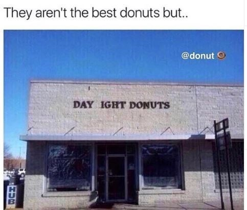 Funny meme about National Donut Day