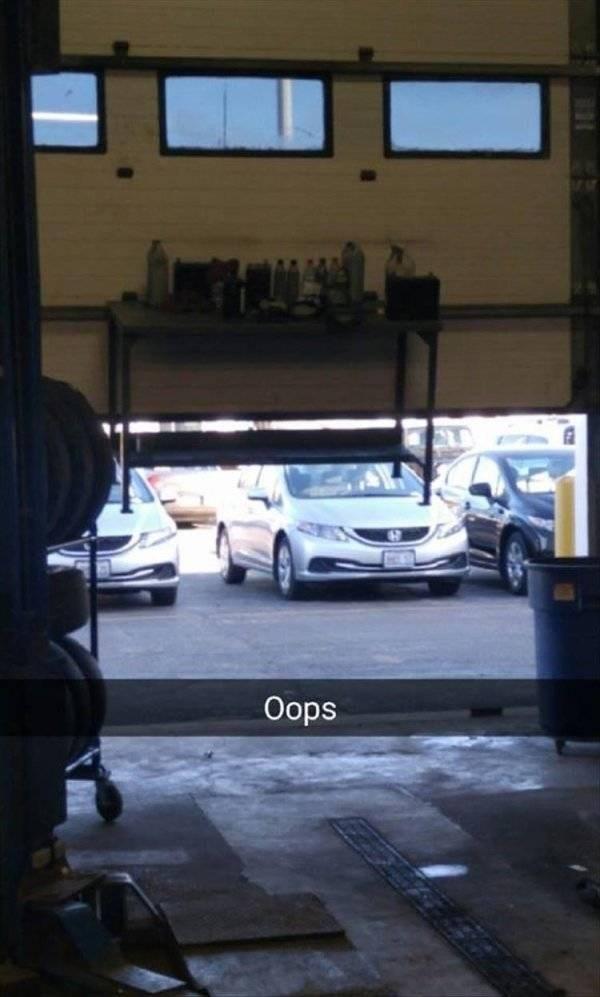 work meme - Vehicle - Oops