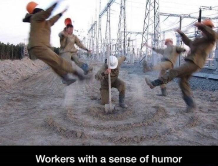 work meme - Fun - Workers with a sense of humor