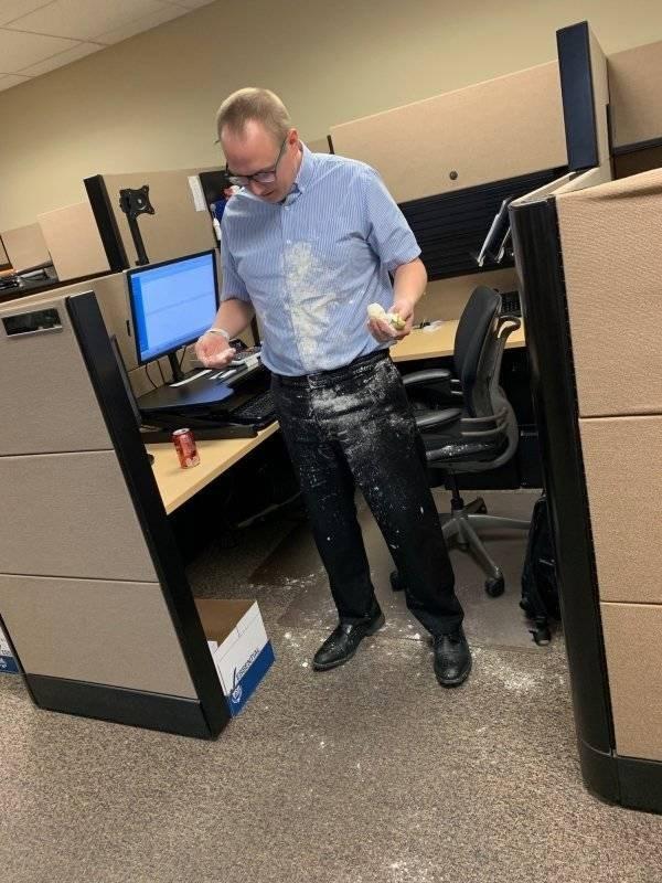 work meme - Desk