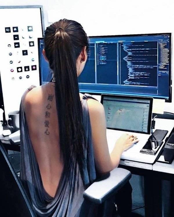 work meme - Hair - 心和愛心