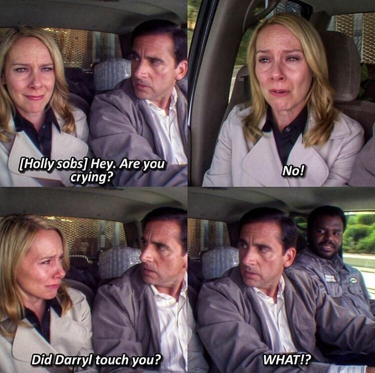 holly michael the office memes