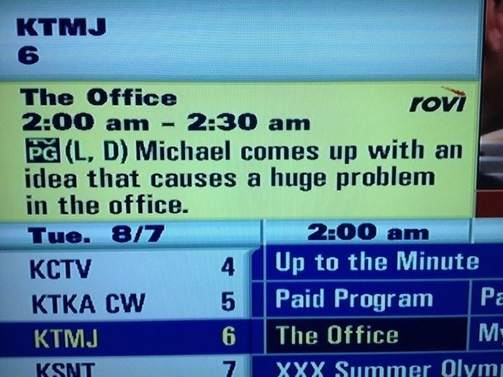 screenshot tv programme the office memes
