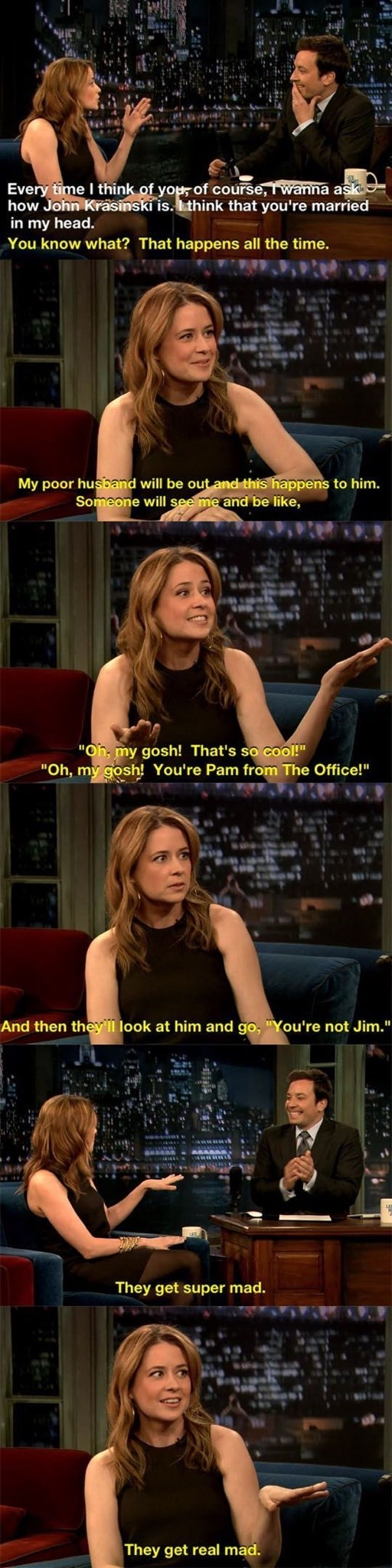 pam interview married jim the office memes