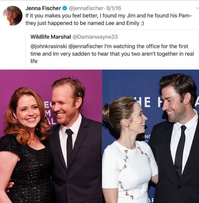 jim and pam partners in real life the office memes