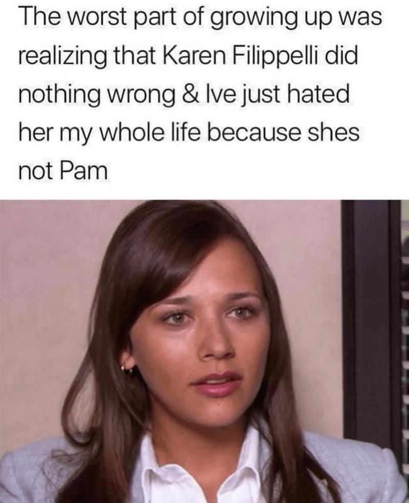 karen filippelli the office memes