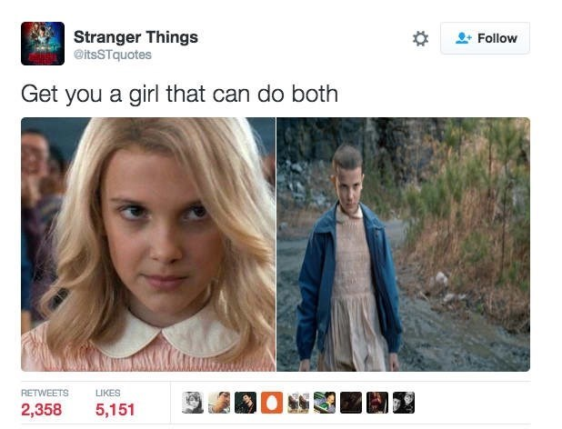Funny 'Stranger Things' meme