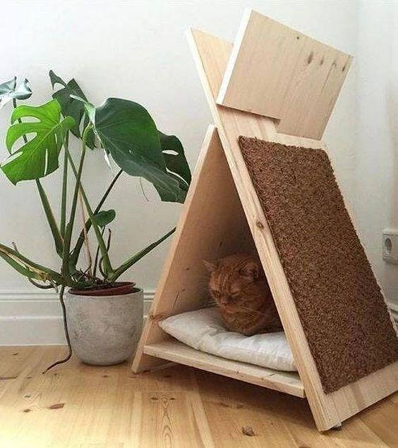 cat house - Flowerpot