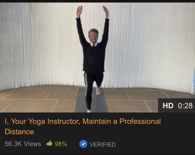 Shoulder - HD 0:28 I, Your Yoga Instructor, Maintain a Professional Distance 56.3K Views 98% VERIFIED