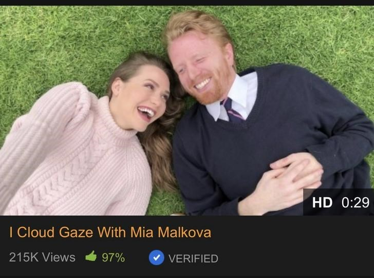 Photograph - HD 0:29 I Cloud Gaze With Mia Mallkova 215K Views 97% VERIFIED