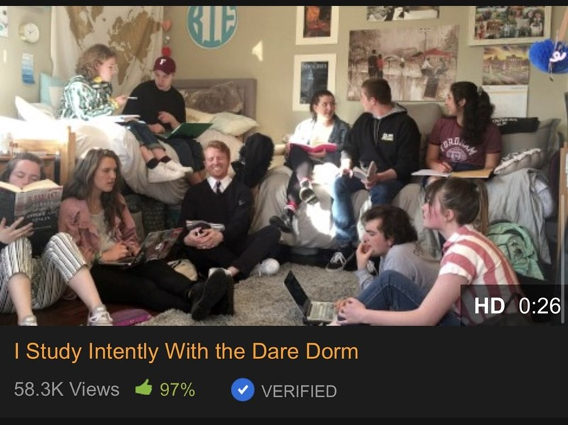 People - RO. HD 0:26 I Study Intently With the Dare Dorm 58.3K Views 97% VERIFIED