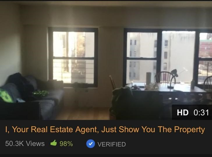 Property - HD 0:31 I, Your Real Estate Agent, Just Show You The Property 50.3K Views 98% VERIFIED