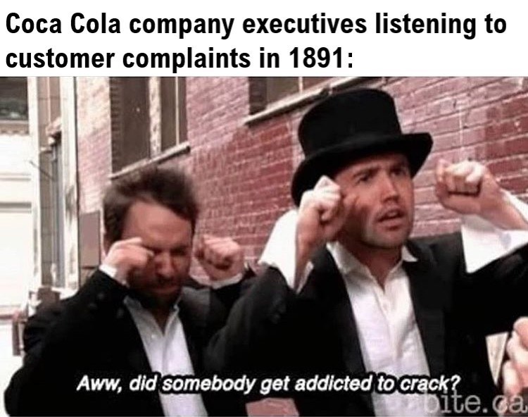 Funny history meme - Coca Cola