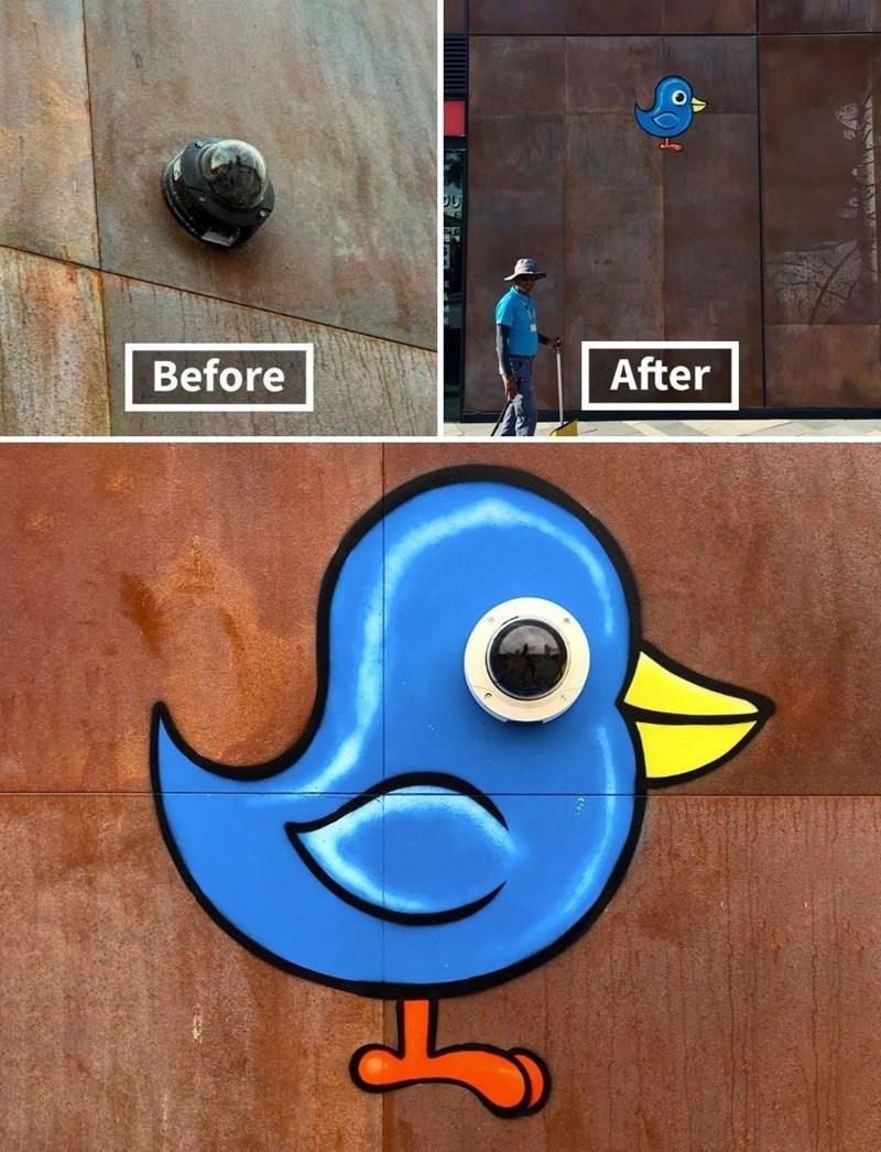 graffiti - Art - After Before