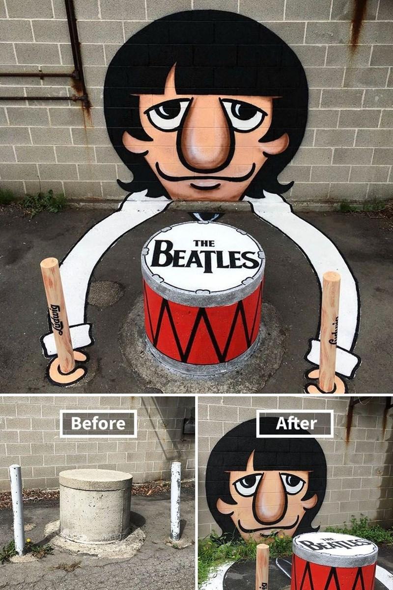 graffiti - Cartoon - BEATLES THE Before After bimpn