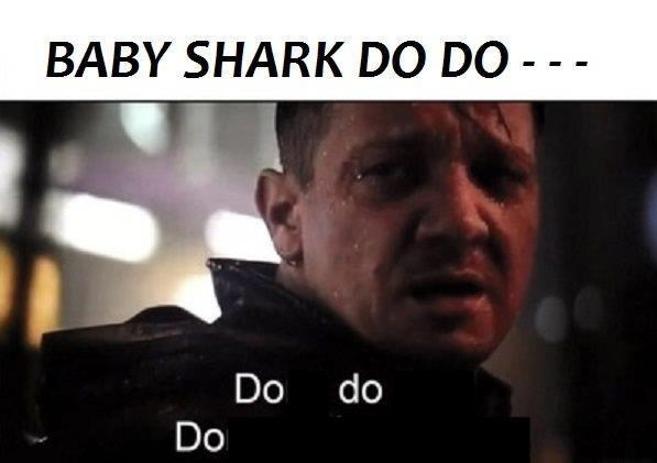 """Funny """"Don't Do That. Don't Give Me Hope"""" that says, """"Baby shark do do..."""""""